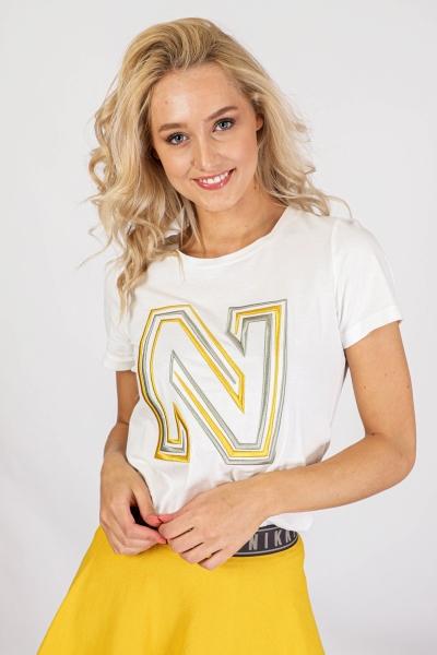 NIKKIE Shirt / Top Wit N 6-199 2002
