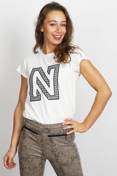 NIKKIE Shirt / Top Wit N 6-605 1905