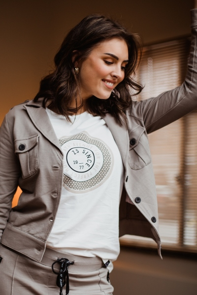 Zoso Shirt / Top Wit LENNY