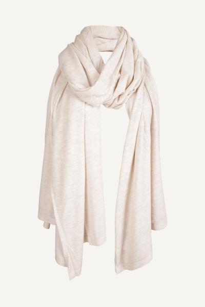 Sjaal groot creme  ecru