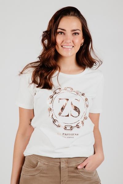 Shirt print off white