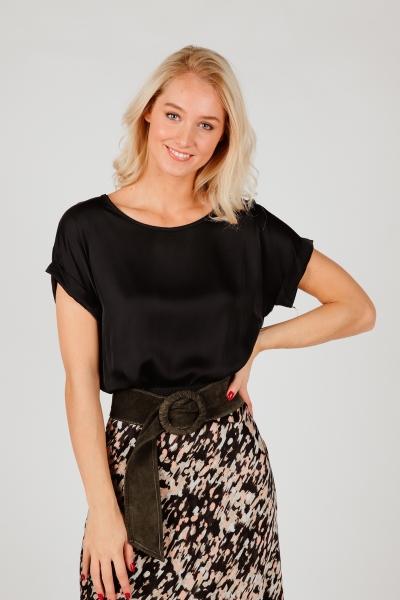 Ambika Shirt / Top Zwart 33171