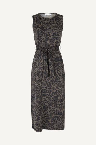 Ambika Maxi-jurk Zwart Lorette