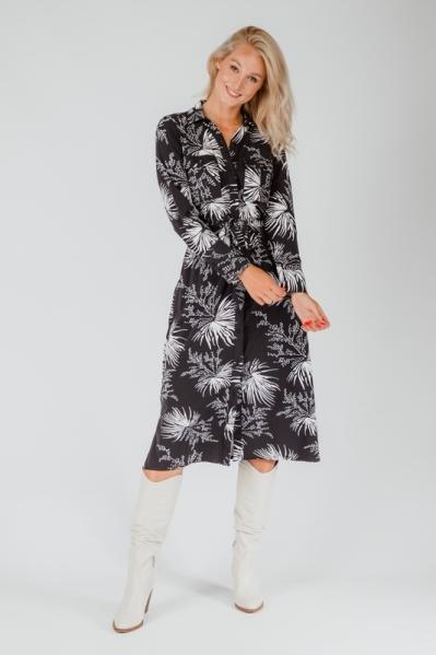 Ambika Maxi-jurk Zwart London