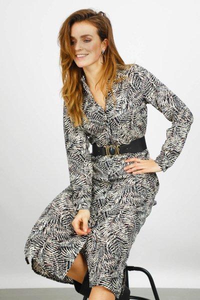 Ambika Maxi-jurken Zwart Sterling