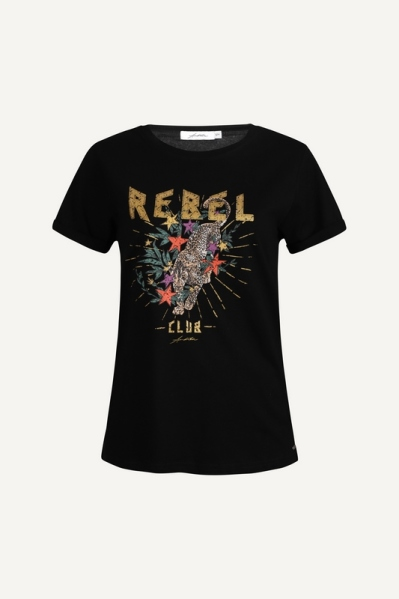 Ambika Shirt / Top Zwart Rebel