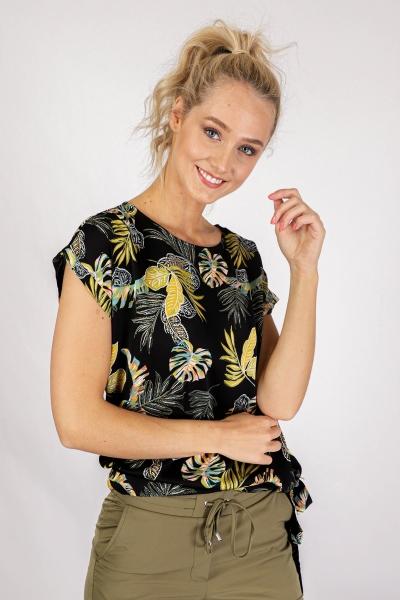 &Co Woman Shirt / Top Zwart Britt