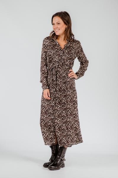 &Co Woman Maxi-jurk Zwart Bonnie