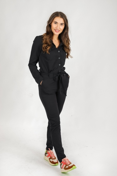 &Co Woman Jumpsuit Zwart Pam