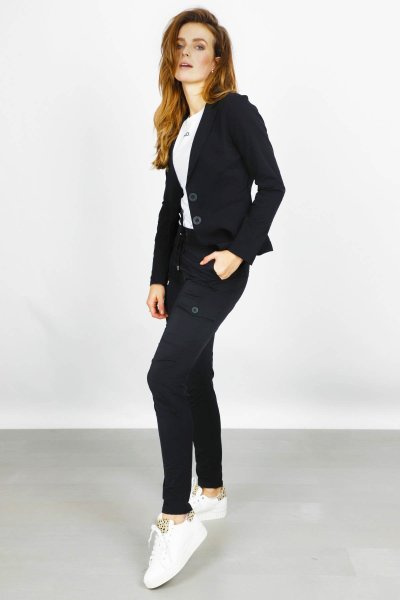 &Co Woman Broek Zwart Pam