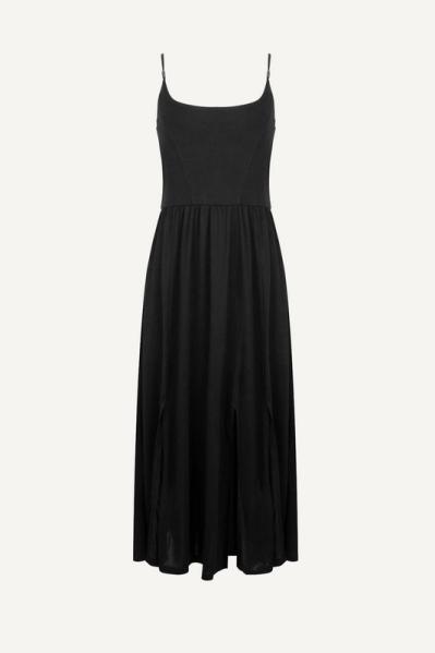 Esqualo Midi-jurken Zwart HS21.30212