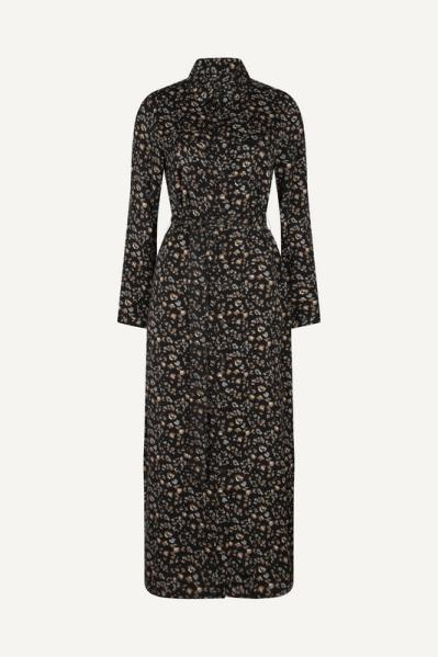 Femme9 Maxi-jurk Zwart MAYA AW21 - W4