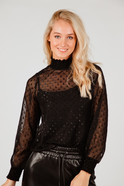 Femme9 Blouse Zwart Ebby