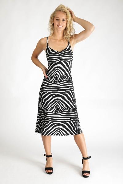 Geisha Maxi-jurken Zwart 07361-60 NOLLE