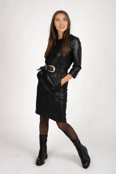Geisha Jurk Zwart 07525-27
