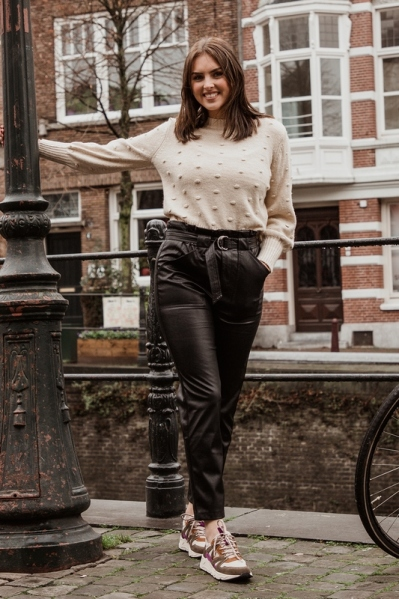 Geisha Broek Zwart 01565-19