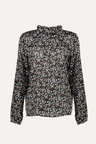 Geisha Shirt / Top Zwart 03897-20