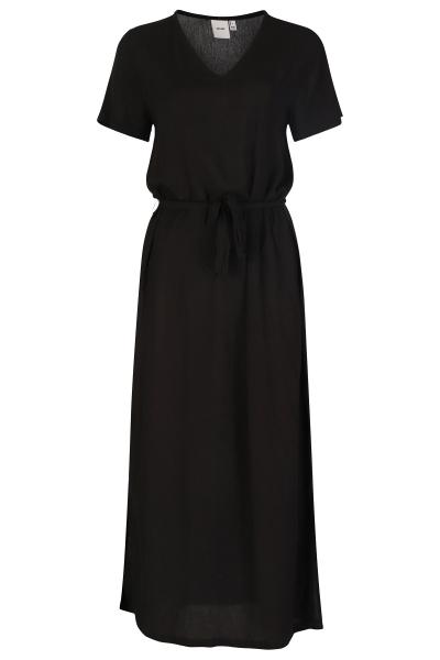 ICHI Maxi-jurken Zwart Ihmarrakech SO DR4