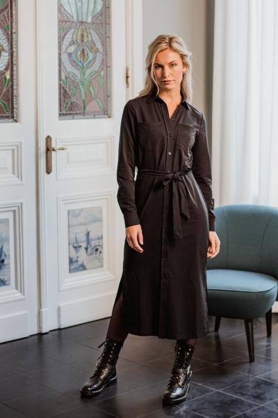 Label Of Elements Maxi-jurken Zwart Lilly