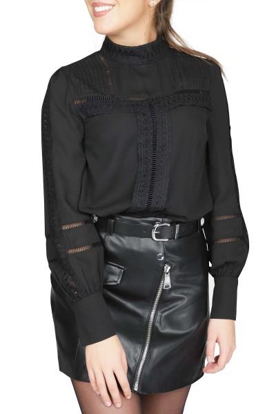 NIKKIE by Nikkie Plessen Shirt / Top Zwart Sara Blouse