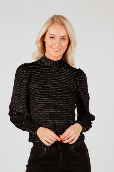 Object Blouse Zwart 23033964