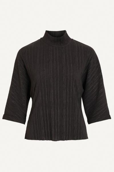 Object Shirt / Top Zwart 23033943