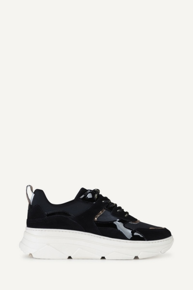 Poelman Sneaker Zwart P7085BAL1
