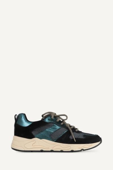 Poelman Sneaker Zwart P9192BAL1