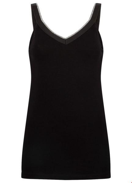 Tramontana Shirt / Top Zwart D22-92-401