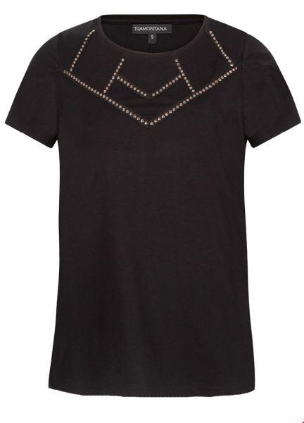 Tramontana Shirt / Top Zwart D24-92-402