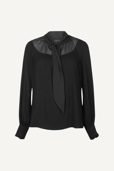 Tramontana Shirt / Top Zwart C08-01-301