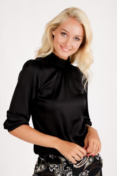 Tramontana Shirt / Top Zwart C08-96-301