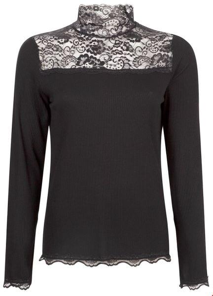 Tramontana Shirt / Top Zwart D26-92-404