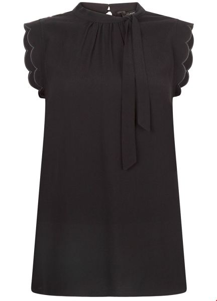 Tramontana Shirt / Top Zwart C10-92-302