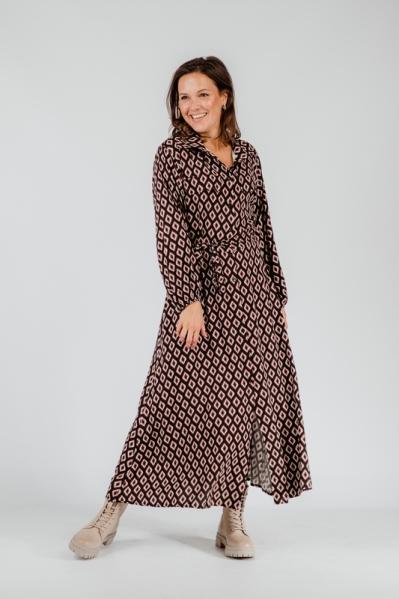 Typical Jill Maxi-jurk Zwart Fredrika
