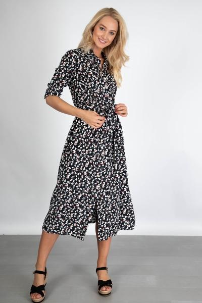 Typical Jill Maxi-jurken Zwart Suzy