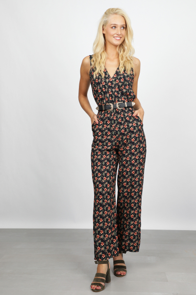 Typical Jill Jumpsuit Zwart Sevilla