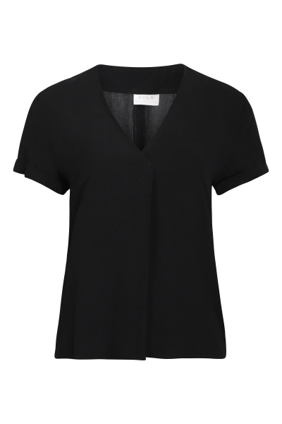 Vila Shirt / Top Zwart 14057545
