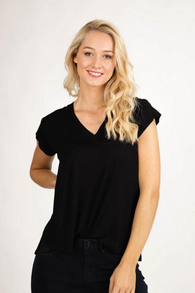 Your Essentials Shirt / Top Zwart Elodie