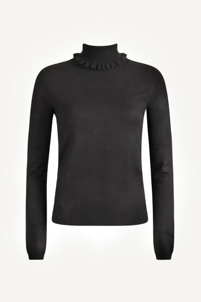 Your Essentials Shirt / Top Zwart Evi