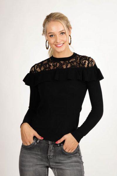 Your Essentials trui Zwart Lola