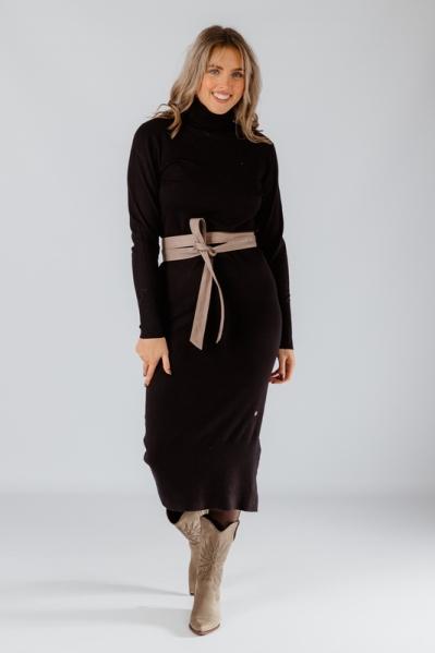 Your Essentials Midi-jurken Zwart AYA AW21