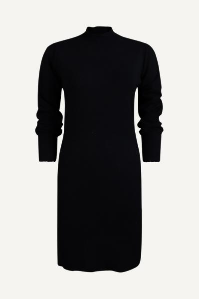 Your Essentials Midi-jurken Zwart Abbey