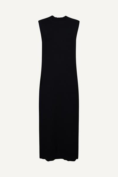Your Essentials Midi-jurken Zwart Sela