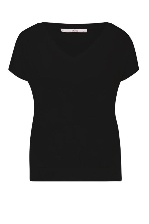 AAIKO Shirt / Top Zwart JENA VIS 344