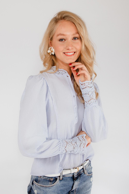 Ambika Blouse Blauw 9281