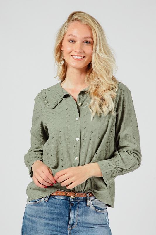 Ambika Blouse Groen 733901