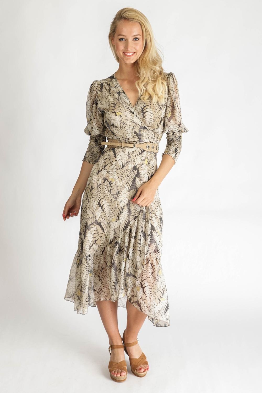 Ambika Maxi-jurken Beige Thankful