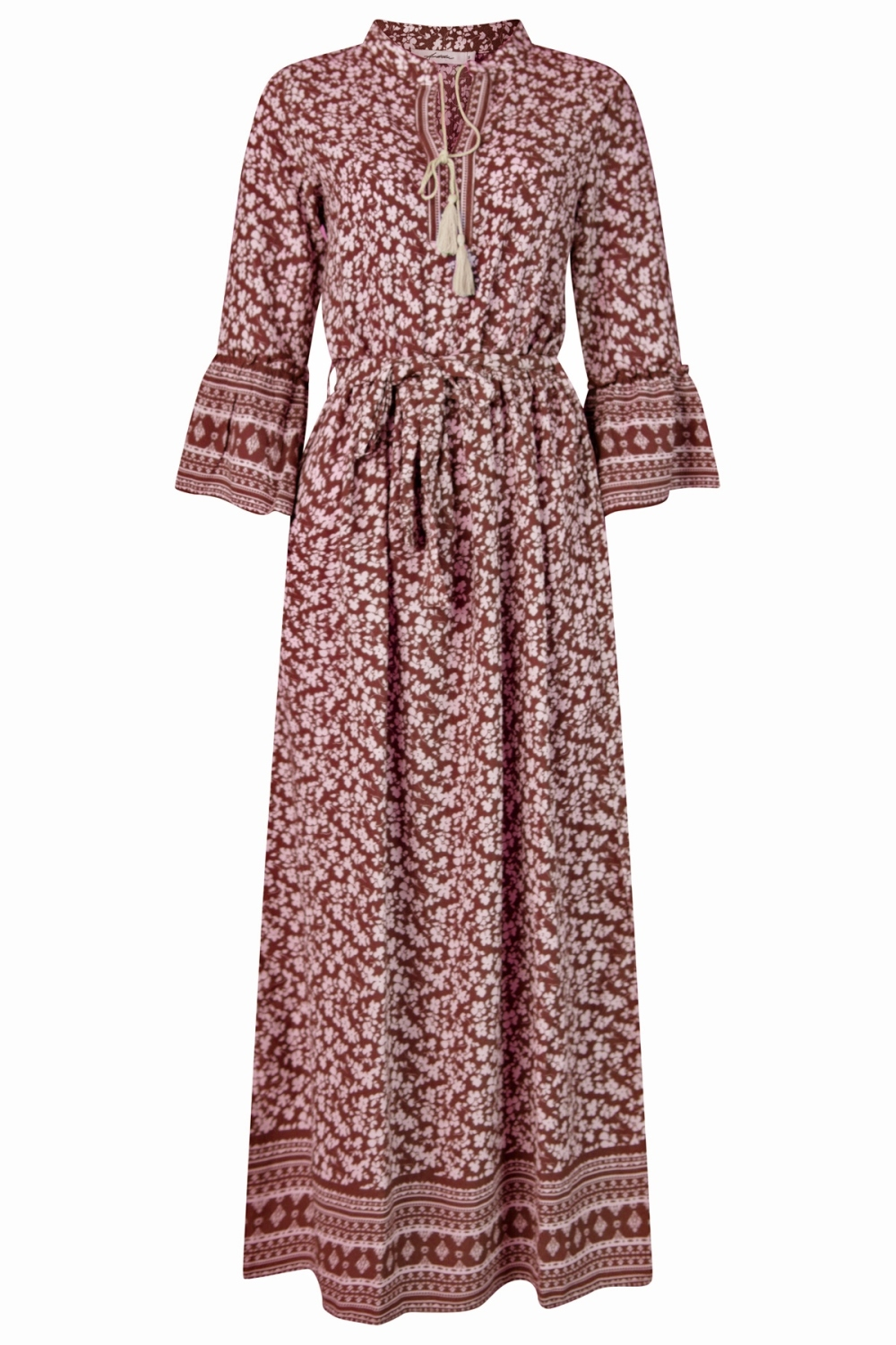 Ambika Maxi-jurken Bordeaux Ashley