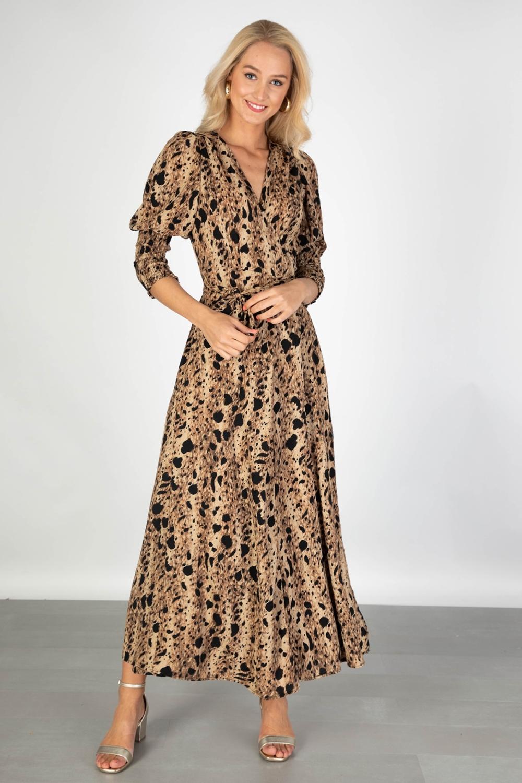 Ambika Maxi-jurken Camel Tawny